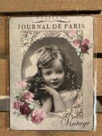 Nostalgisch Bordje 'Journal de Paris'