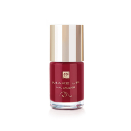 N044 NAIL LACQUER GEL FINISH POSH RED
