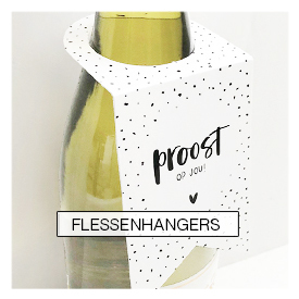 flessenhangers, fleshals labels, wholesale