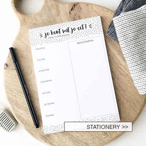 Stationery, planners