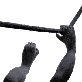 Seletti - Monkey lamp swing zwart