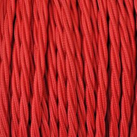 Snoer gedraaid rood