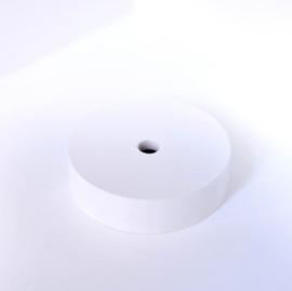 Plafondkapje wit hout