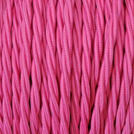 Snoer gedraaid roze