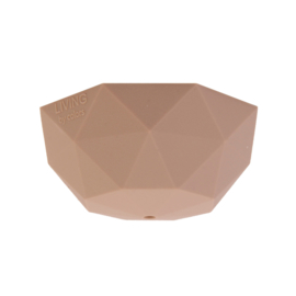 Plafondkapje siliconen - nude