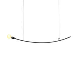 Curved hanglamp