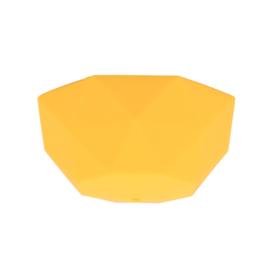 Plafondkapje siliconen - geel