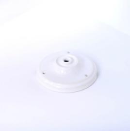 Plafondkapje wit porselein
