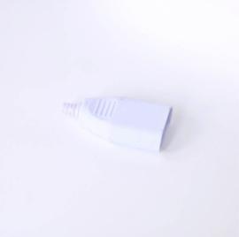 Contrastekker wit