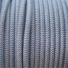Snoer katoen blauw zigzag
