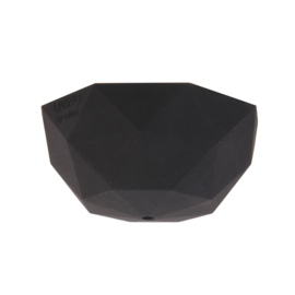 Plafondkapje siliconen - zwart