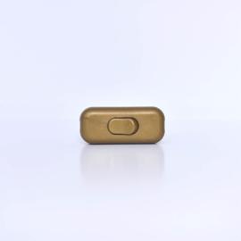 Schakelaar goudbruin