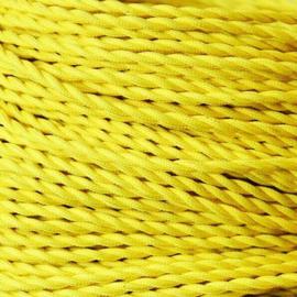 Snoer gedraaid geel