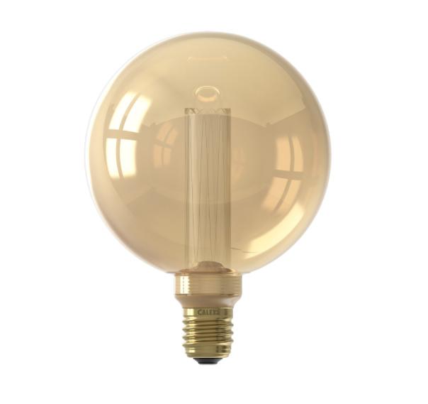 Globe Goud Crown 125mm 3,5W E27