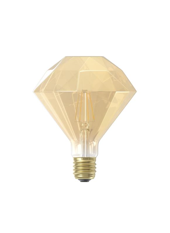 Diamant goud 4W E27