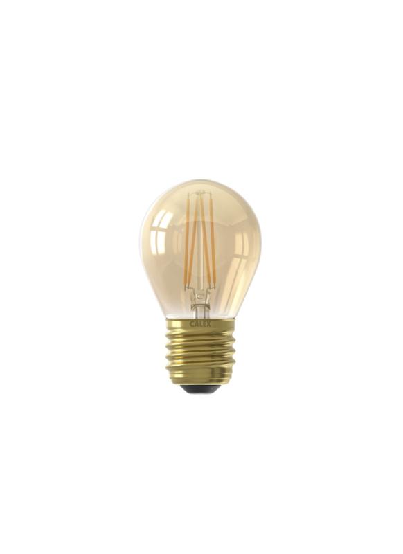 Kogellampje goud 3,5W E27