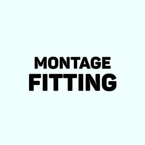 Montage fitting