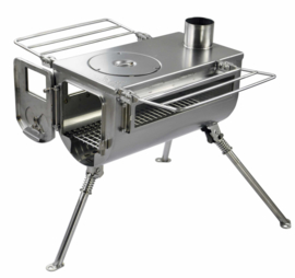 Winnerwell Woodlander  DOUBLE VIEW Medium sized Cook Camping Stove