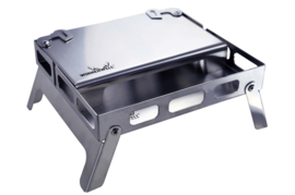 Ambassador Deal - Backpack Stove Stainless including Table Board+Bottom Tray