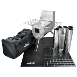 Woodlander 1G L-sized Cook Camping Stove Package