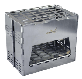 Backpack Stove Stainless including Table Board+Bottom Tray
