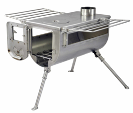 Winnerwell Woodlander  Double View Large sized Cook Camping Stove