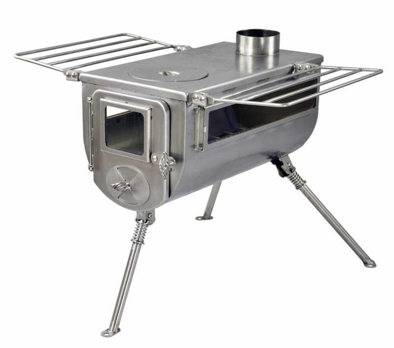 Winnerwell Double View Woodlander  Large sized Cook Camping Stove
