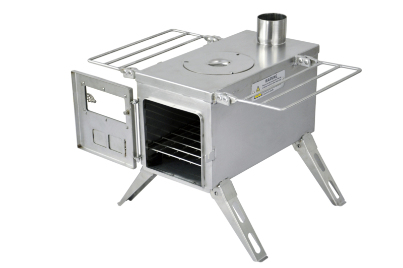 Winnerwell Water Tank Large Durable 304 Stainless Steel Compatible with Large Size Winnerwell Wood Burning Tent Stoves