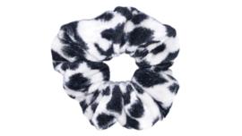 Scrunchie panter velours