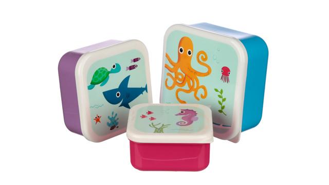Lunchtrommels zeedieren