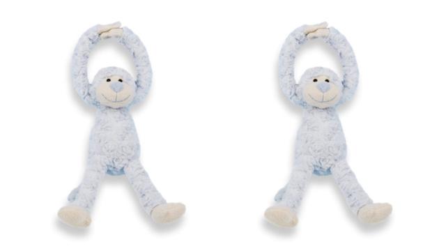 Slinger aapje blauw