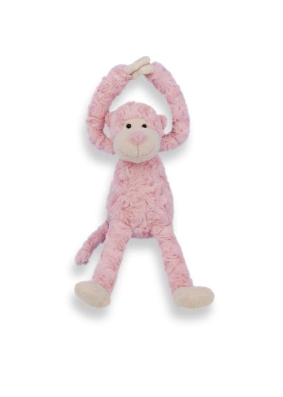 Slinger aapje roze
