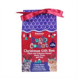 Kerst cadeau box voor katten - Cupid en Comet