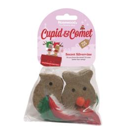 Matatabi speeltjes voor de kat kerst editie