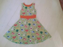 Digitaal Patroon Elizabeth jurk maat 92-152 (tricot)