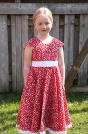 Patroon Eleonora jurk maat 92-152 (katoen)