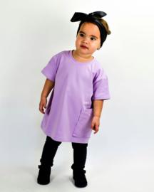 Oversized t dress lila