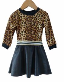 Jurkje leopard/leatherlook