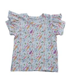 ruffle shirt flower
