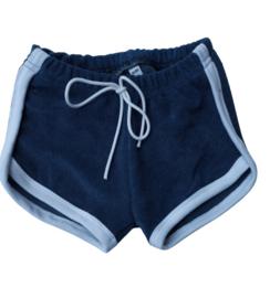 Short d.blauw