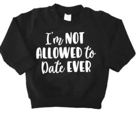 sweater date zwart
