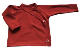 Overslag shirt roest