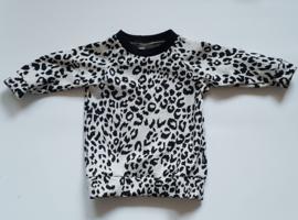 sweaterdress sand leopard