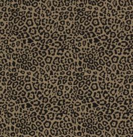 melange leopard khaki