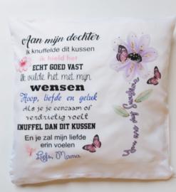 kussenhoes mama/dochter