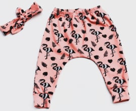 Broekje flamingo
