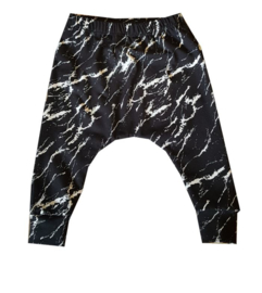 Broekje marble zwart
