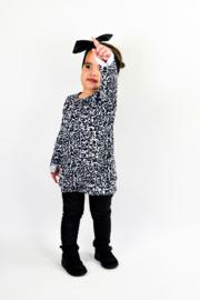 Leopard strik dress