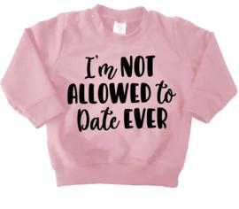 sweater date rose