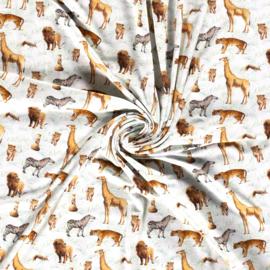 digitaal bedrukte dieren